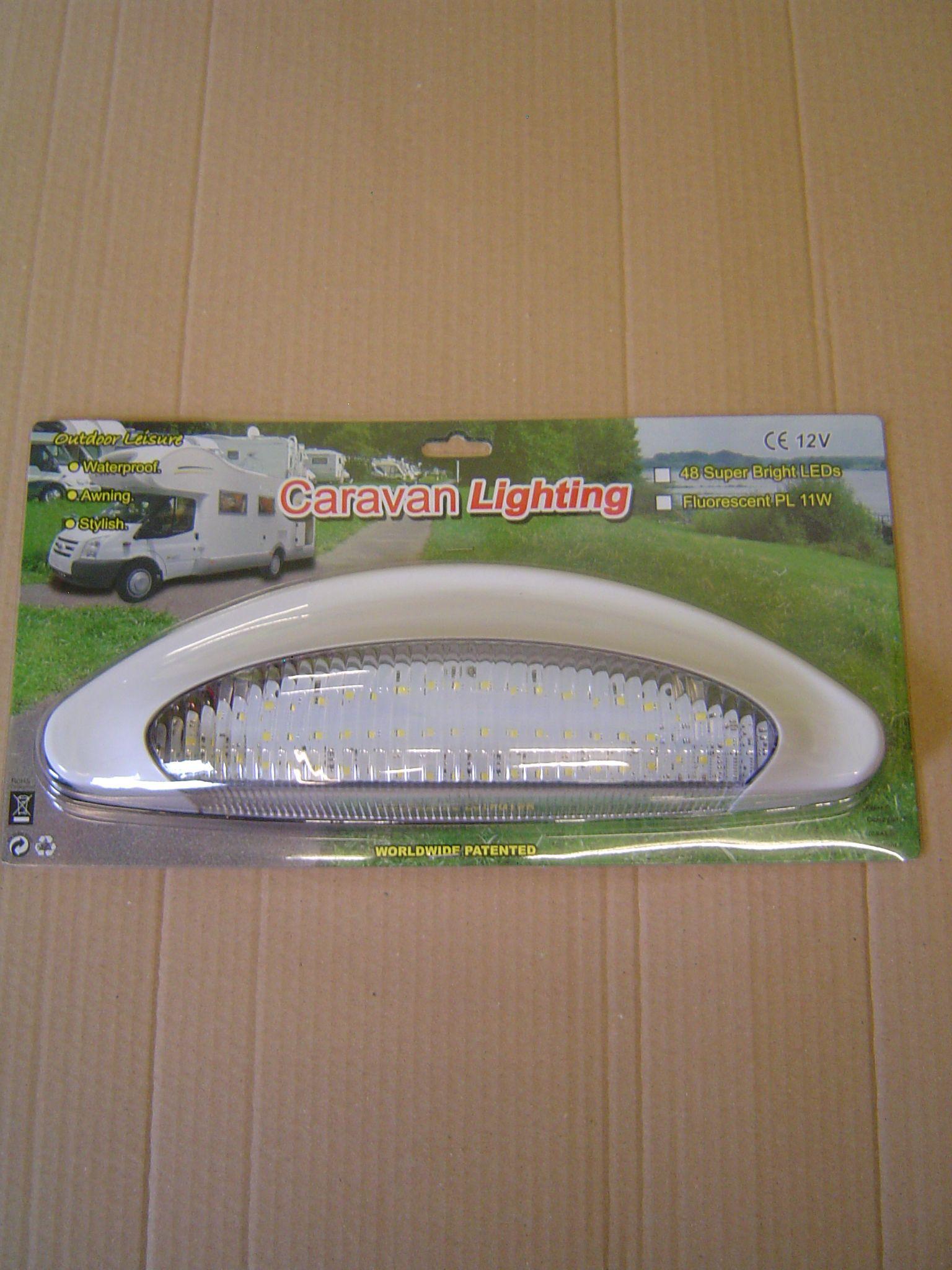 light 48 led super bright waterproof 12v